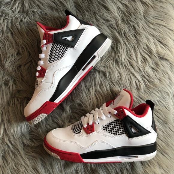 "finest selection 5b85f 4a441 Jordan Shoes - Air Jordan 4 Retro   ""Fire Red"""